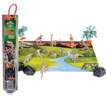 Dinosaur Skeletons Play Set Figures