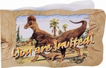 Hunting With Dinosaurs Deluxe T-REX Exclusive Invitations, 96 pcs