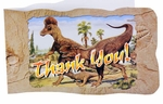 "Wholesale Tyrannosaurus rex ""Hunting with Dinosaurs"" Deluxe Dinosaur Thank You Cards, 96 pcs"
