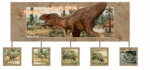 Jurassic World Deluxe T-rex Dinosaur Birthday Banner, 12 pcs