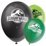 "Jurassic World Balloons Dinosaur Decoration, 12"", 8 pcs"