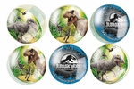 Jurassic World Dinosaur Bouncing Balls, 6pcs