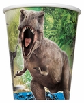 Jurassic World Dinosaur Birthday Party Cups 8 pcs