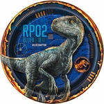 "Jurassic World II, Beverage Plates, 7"", 8 pcs"