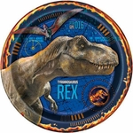 "Jurassic World II, Lunch Plates, 9"", 8 pcs"