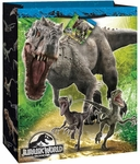 Jurassic World Large Glossy Gift Bags, 13 x 10.5 inch