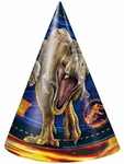 Jurassic World 2 Party Hats, 8 pcs