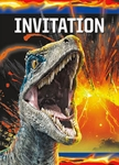 Jurassic World 2 Party Invitations