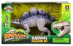 Special Offer: Stegosaurus Toy Extinct World Articulated Dinosaur Figure