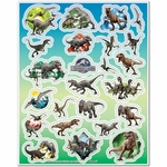Jurassic World Dinosaur Stickers, 96 pcs