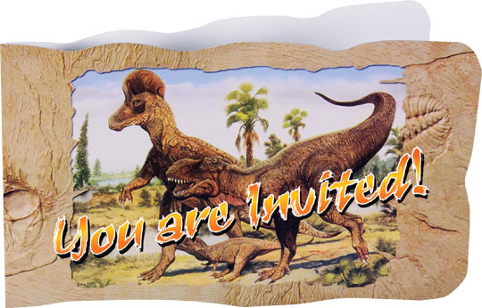 Jurassic World Deluxe T REX Exclusive Dinosaur Invitations With Envelopes 8 Pcs