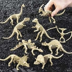 "Dino Dig Jurassic World Dnosaur Skeleton Toys, 6.5"", 12 pcs"