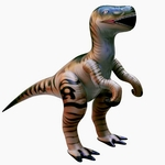 Large Inflatable Raptor Velociraptor Dinosaur Animal Blow Up Toy, 51 inch