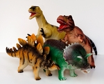 Dinosaur Toys Large Figures, 4 pcs, 19-22""