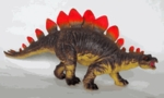 Medium Stegosaurus Squeezable Soft Touch Dinosaur Toy, 16.5 inch