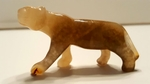 Lion Panthera Gemstone Figure
