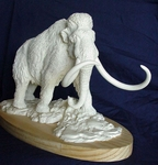 Woolly Mammoth Mammuthus Primigenius Model Scale Replica