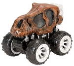 4 Wheel Drive Push Action T-rex Skull Dinosaur Truck Toy