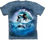 Orca Wave Youth & Adult T-shirt