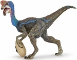 Papo Museum Quality Blue Oviraptor Model Figure