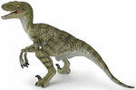 Papo Green Velociraptor Model Dinosaur Toy Figure