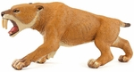 Papo Museum Quality Smilodon Model Prehistoric Toy Figure