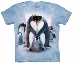 Penguin Heart Adult T-shirt