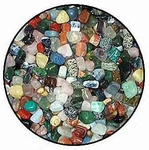 Polished Gemstones, 2 lbs