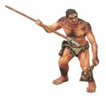Papo Prehistoric Caveman Toy Collectible Figure