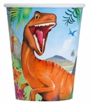 Prehistoric Jungle Dino Cups 8 pcs