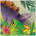 Prehistoric Jungle Dino Beverage Napkins, 16 pcs