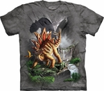 Jurassic World Stegosaurus Dinosaur T-shirt Youth