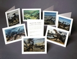 Dinosaur Note Cards, 9 pcs
