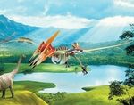 Special Offer Pteranodon 3D Wooden Dinosaur Skeleton Puzzle Kit 19.5""
