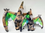 Pteranodon Plush Toys Flying Dinosaurs Mom & Baby, 20-28 inch