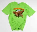 Jurassic World Tyrannosaurus rex Ripping Dinosaur T-shirt (Small-Youth)