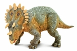 Safari Regaliceratops Scale Model Dinosaur Toy, 6.3 inch