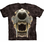 Saber Tooth Tiger Skull Prehistoric T-shirt Youth & Adult