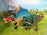 T-rex Spinosaurus Toys Shleich Dinosaurs Scale Models