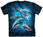 Shark Collage Youth T-shirt