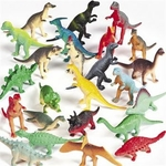 "Small Dinosaur Figures Play Set, 2.5"", 144 pcs"