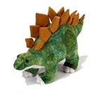 Wild Republic Large Stegosaurus Soft Touch Dinosaur Plush Toy, 20""