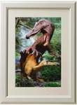 3D Jurassic World Spinosaurus Framed Dinosaur Picture Kids Room Decoration