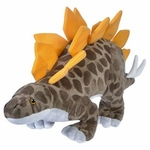 "Stegosaurus Cuddly Soft Dinosaur Plush Toy 12"", 4 pcs."