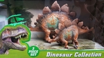 Large & Small Stegosaurus Toys Play Set