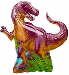T-rex Dinosaur Birthday Party Balloon, 31 inch