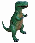 "Large Inflatable Tyrannosaurus rex Dinosaur Blow Up Toys 43"", 6 pcs."