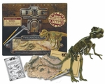 T-rex Dinosaur Fossil Skeleton Excavation Dig Kit