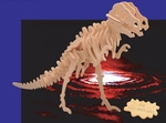 3D T-rex Wood Bones Skeleton Kit, 30 inch, 3 sets