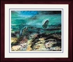 "Cambrian Framed Picture 14"" x 17"""